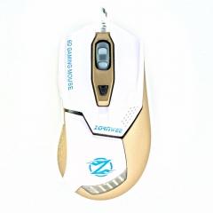 Геймърска мишка, ZornWee Z1, Оптична, Бял - 967
