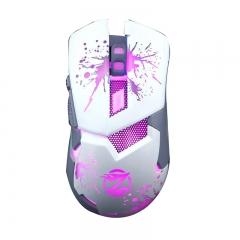 Геймърска мишка, ZornWee Z42, Оптична, Бял - 966