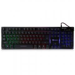 Геймърска клавиатура FanTech Pointblack K9,Без кирилизация, Черна - 6045