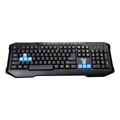Геймърска клавиатура, ZornWee X6 Soldier,Мултимедийна, USB, Черен - 6058
