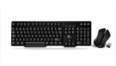 Комплект мишка и клавиатура, Безжични, FanTech WK-890, Черен - 6049